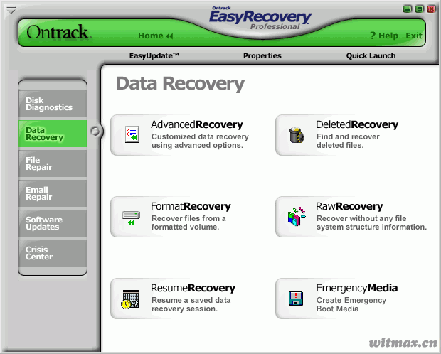 EasyRecovery 界面